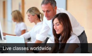 Live classes worldwide